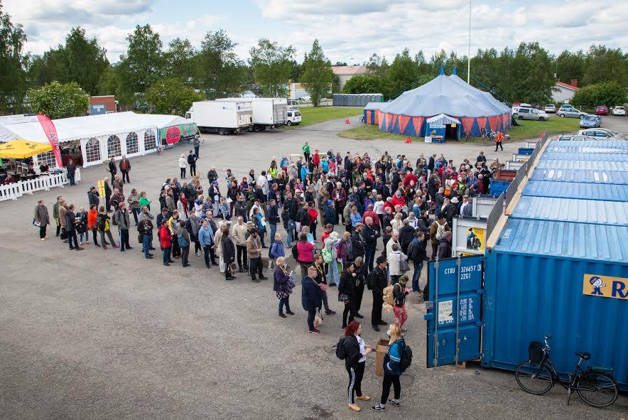 Midnight Sun Film Festival (Photo: Antti Yrjönen).