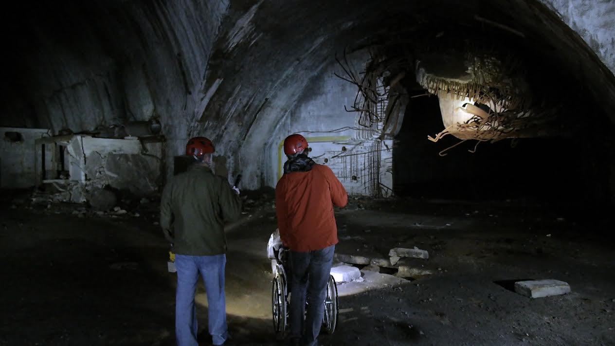 Underground facility - Object 505.
